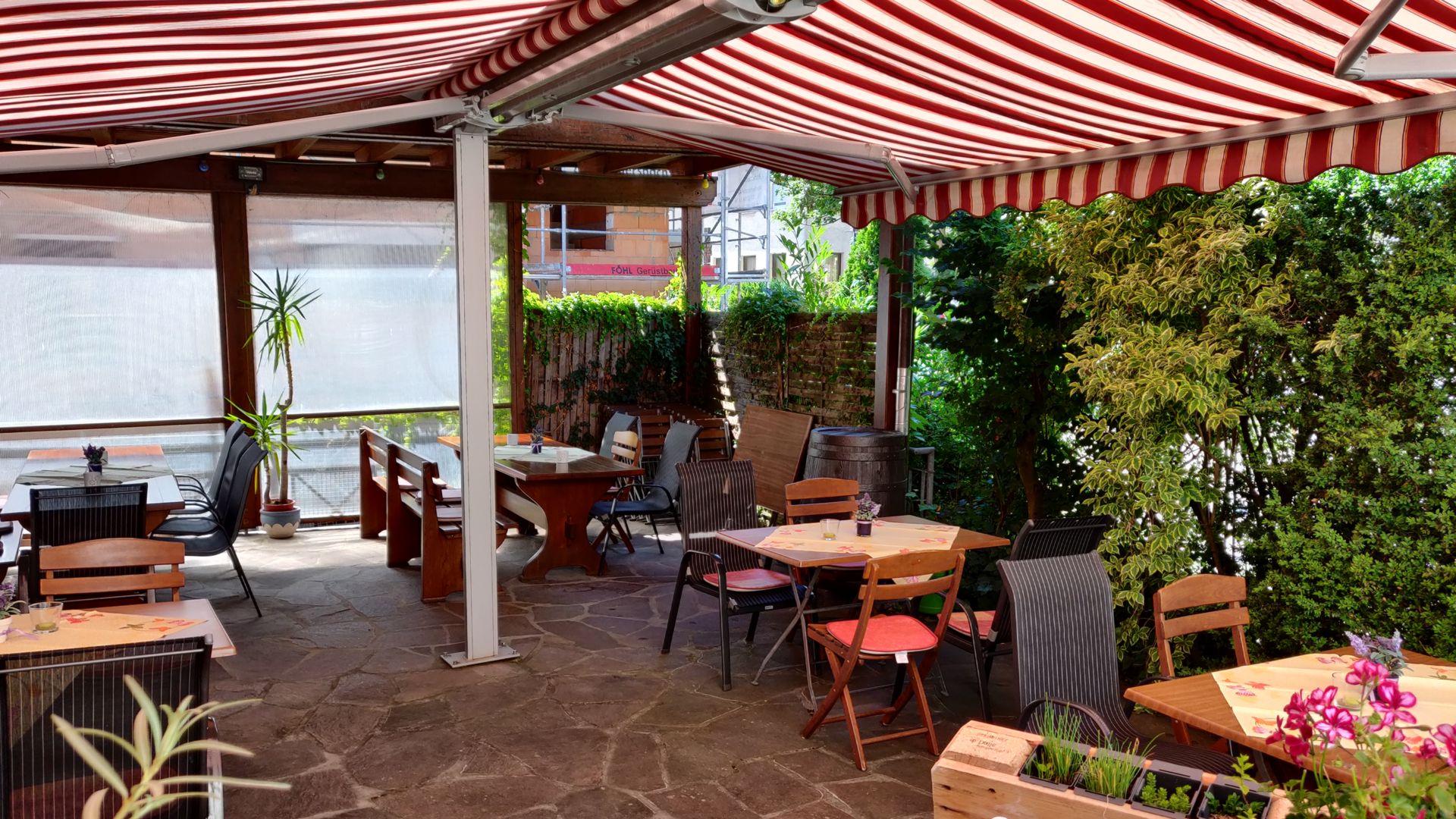 Biergarten & Terrasse